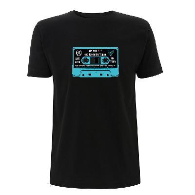 DDF Die drei ??? Kassette Shirt 2019 Herren T-Shirt schwarz