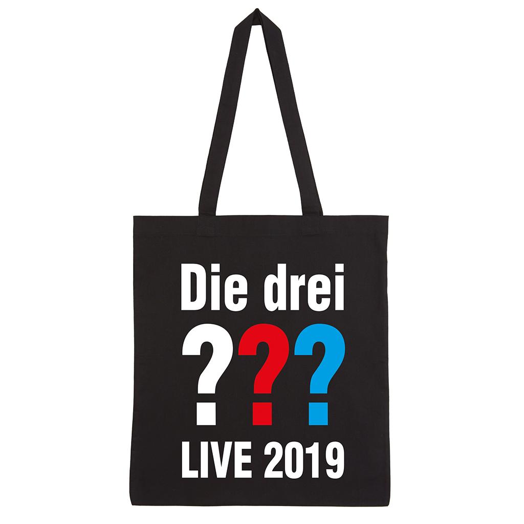 DDF Die drei ??? Tour Beutel 2019 Bag schwarz