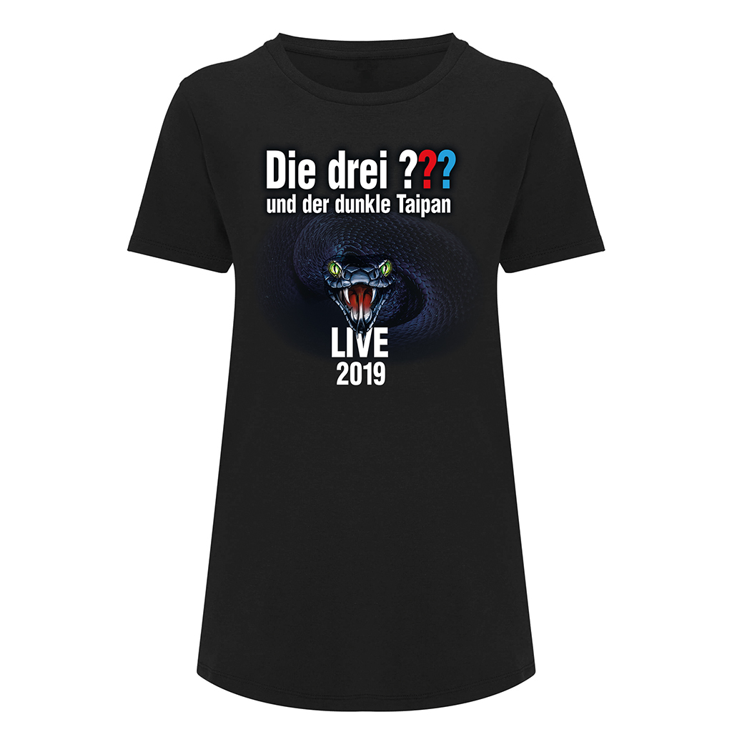 DDF Die drei ??? Tour Shirt 2019 Damen Girlie