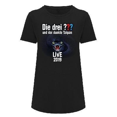 DDF Die drei ??? Tour Shirt 2019 Damen Girlie schwarz