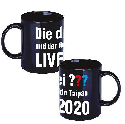 DDF Die drei ??? LIVE 2020 Tasse Tasse schwarz