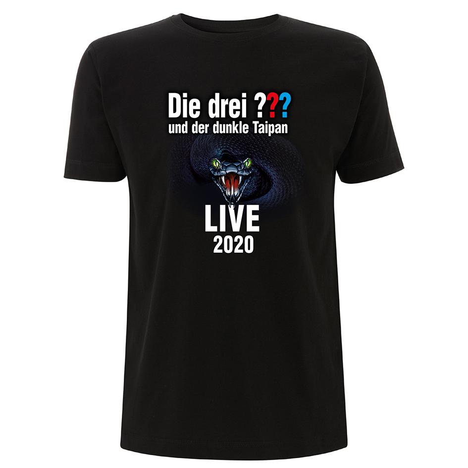 DDF Die drei ??? Tour Shirt 2020 Herren T-Shirt, schwarz