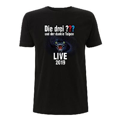 DDF Die drei ??? Tour Shirt 2019 Herren T-Shirt